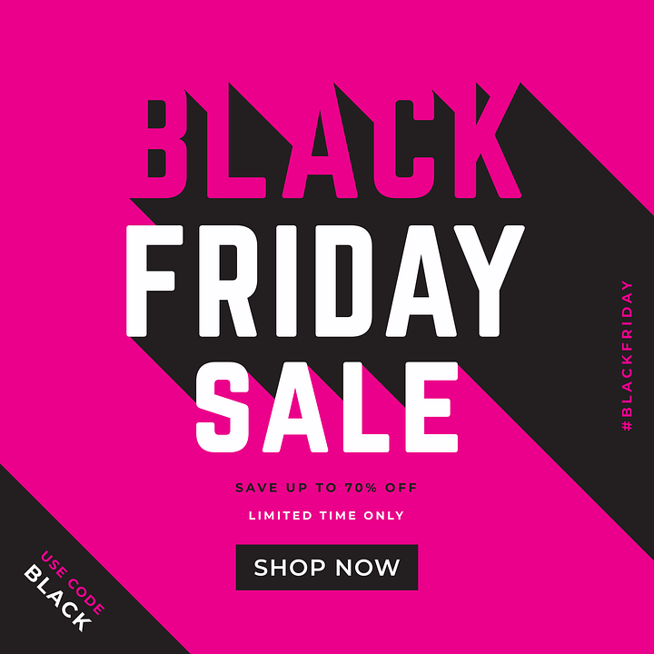 sale, shopping, Black Friday sale