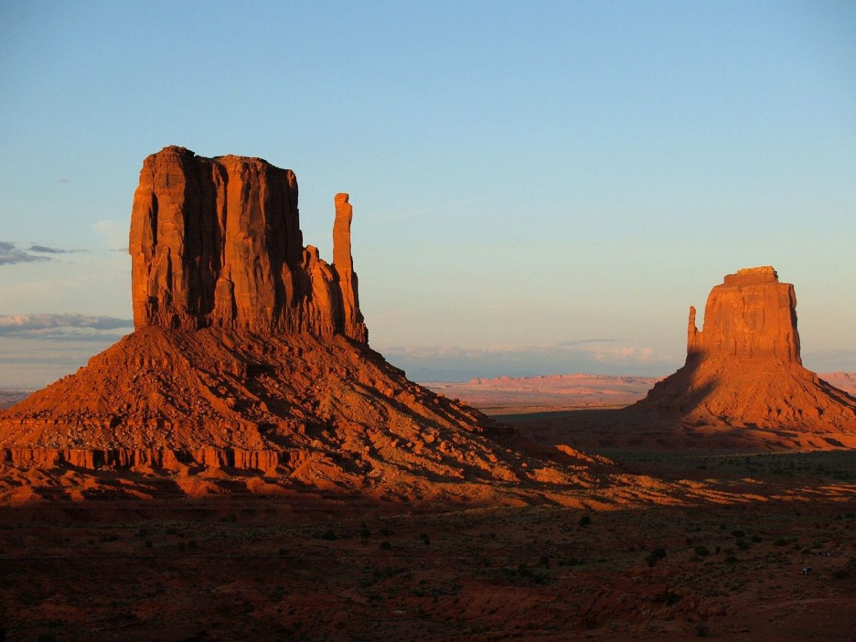 Monument Valley, Utah, best states to retire