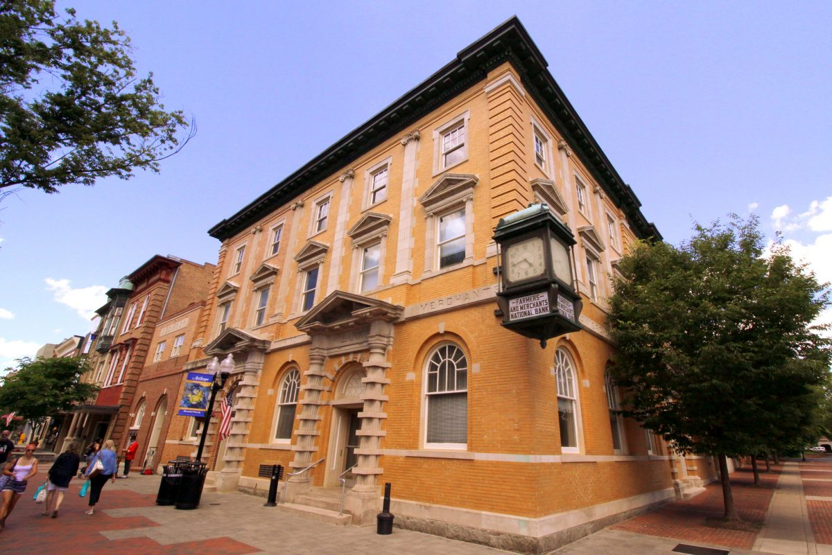 historical building, Winchester, Virginia