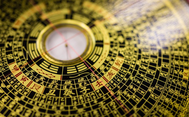 a feng shui compass is often used to determine feng shui energies in a space