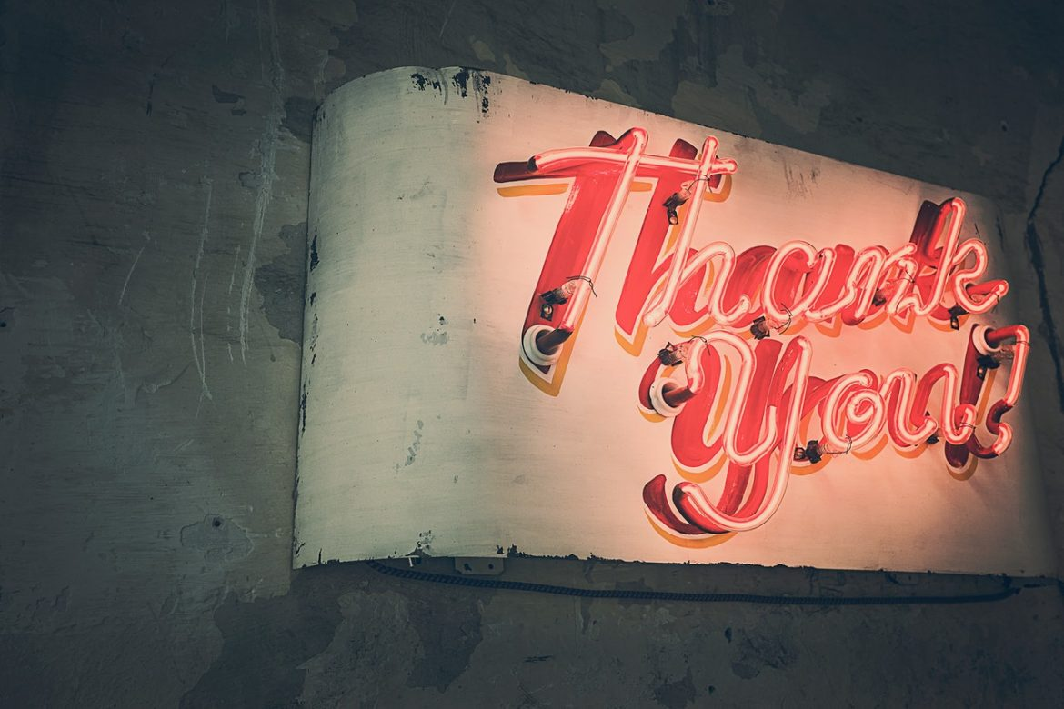 Thank You, Business, Neon Lights