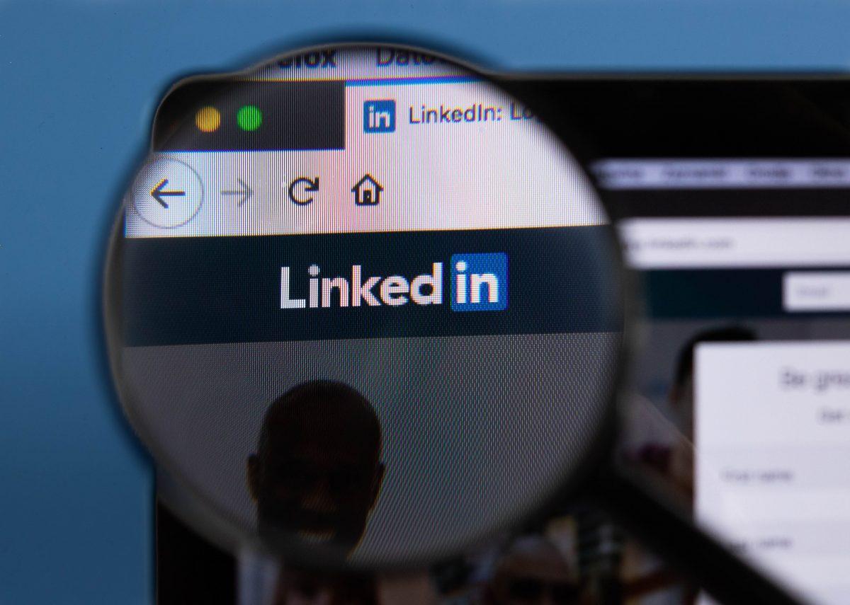 work profile, linkedin profile