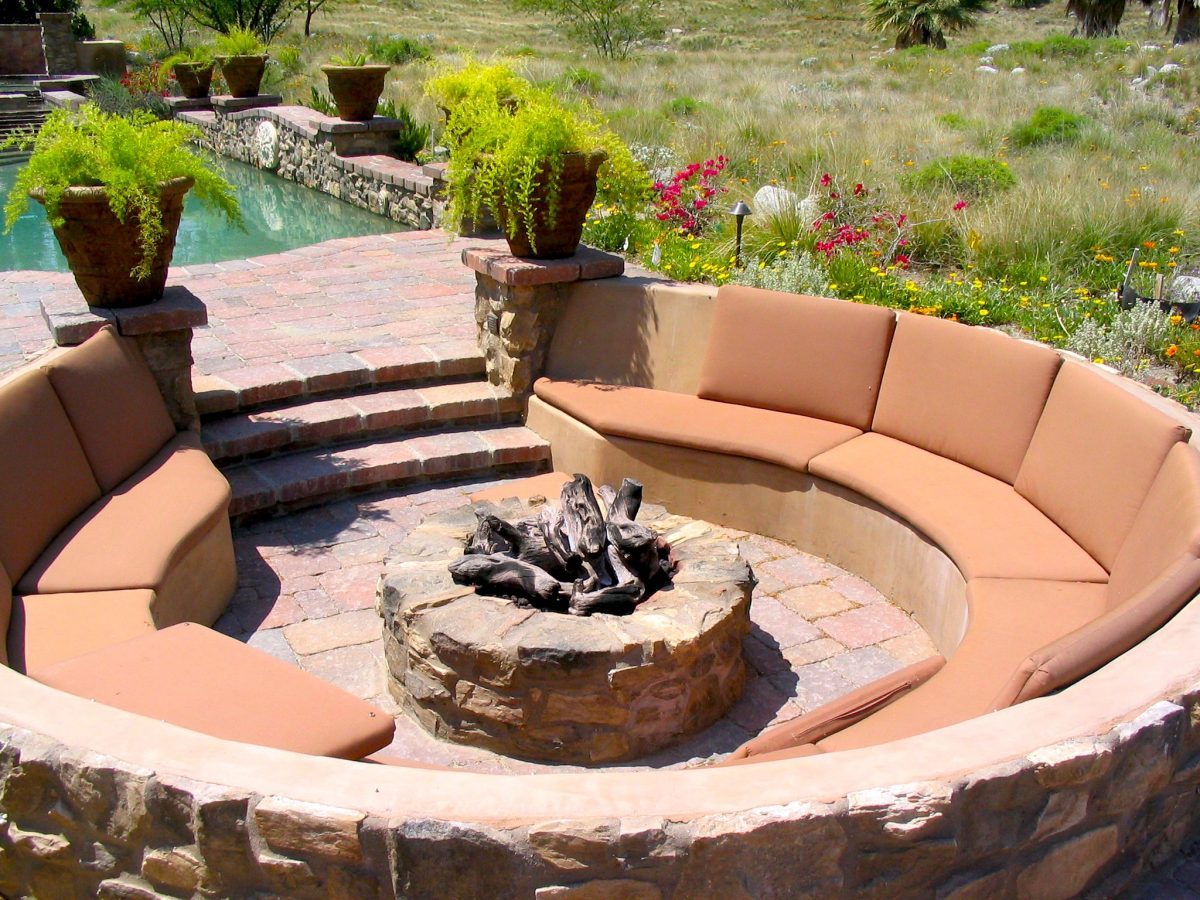 fire pit, backyard party, party lover