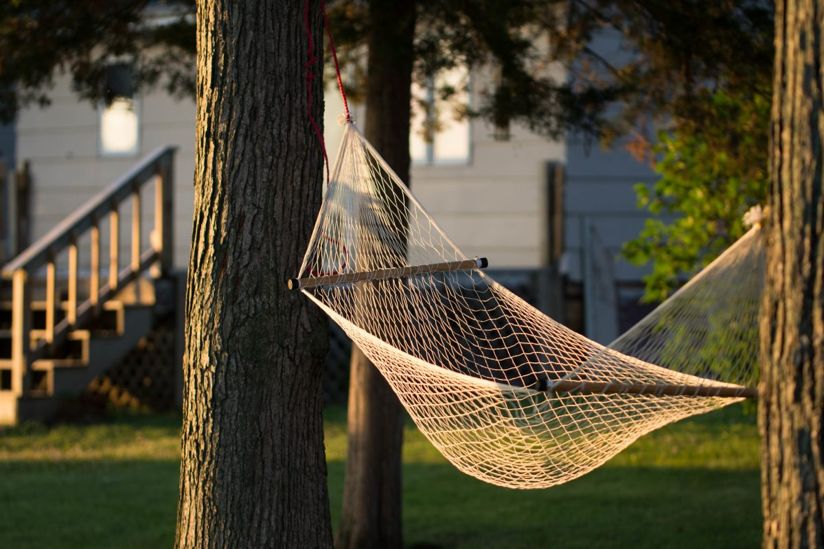 hammock, chilling, lazing, living spaces
