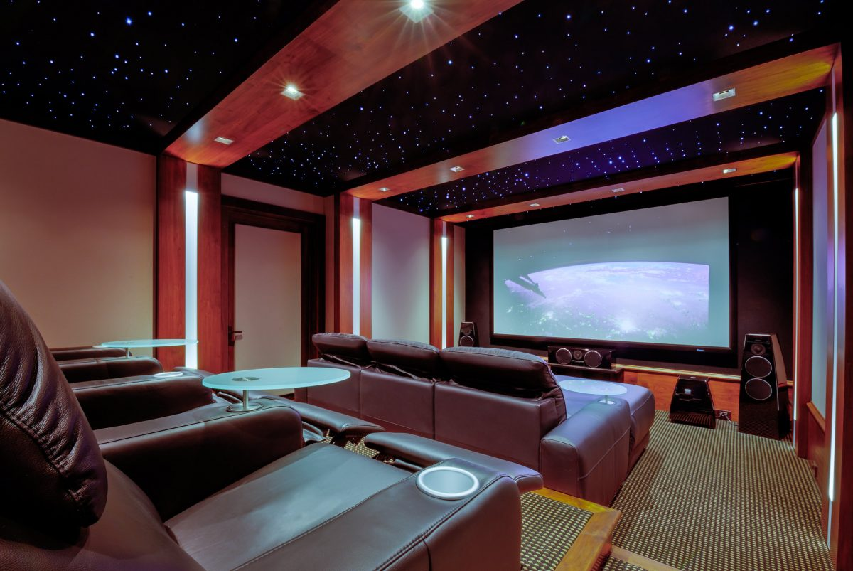 home theater, home cinema, binge watch