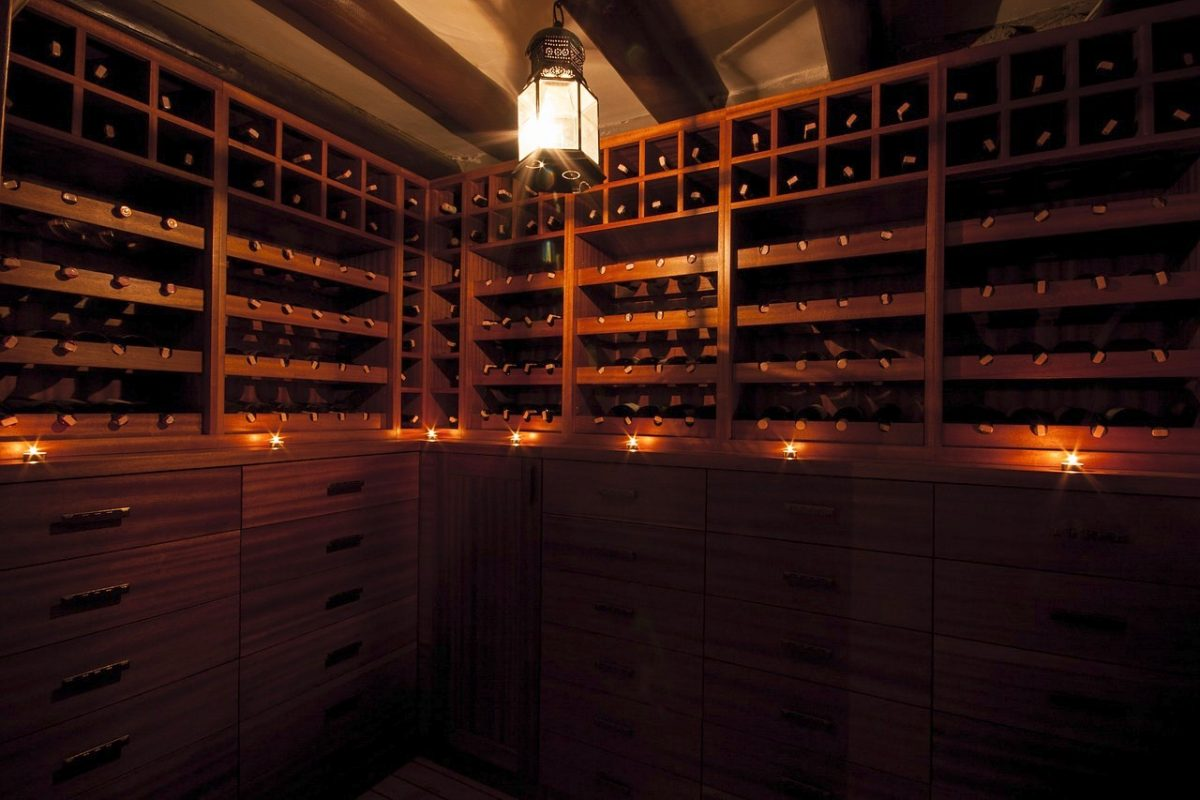 wine cellar, wine collection, wine aficionado