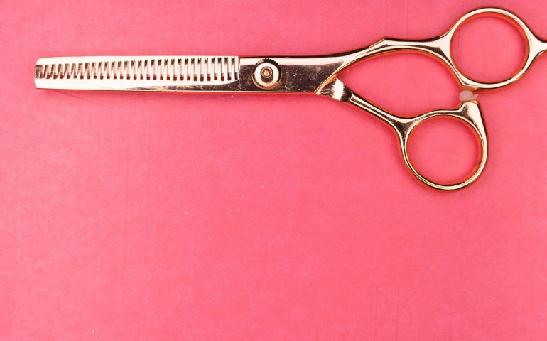 how to cut your own hair, hair cutting scissors