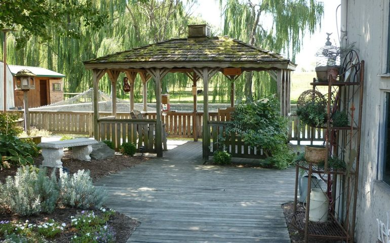 What is a gazebo?