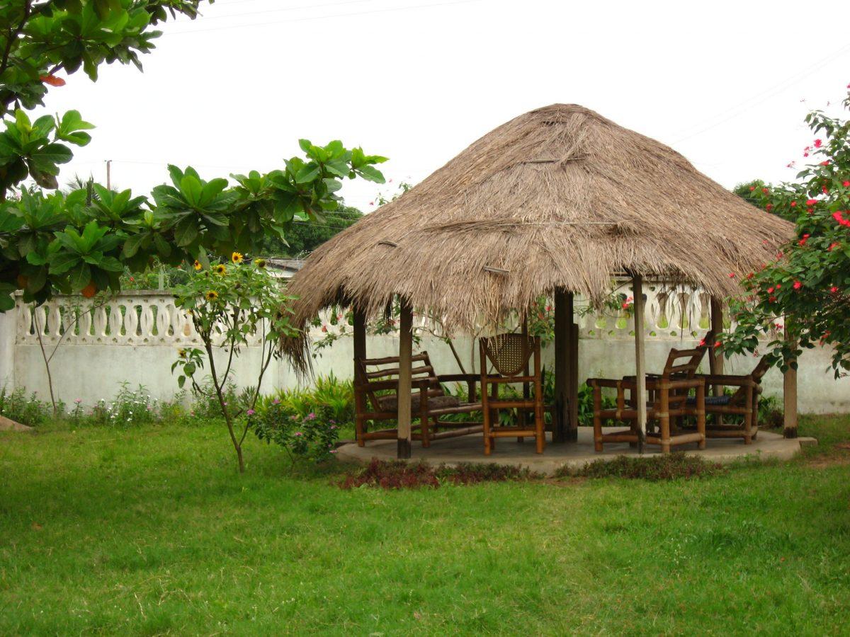 Hut Style Gazebo