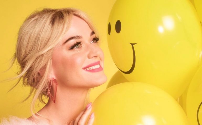 Katy Perry new album, Smile.