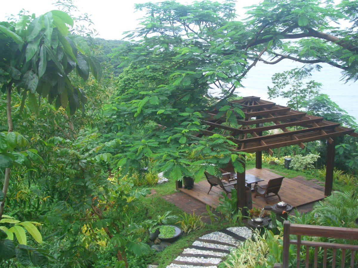Tropical Style Gazebo