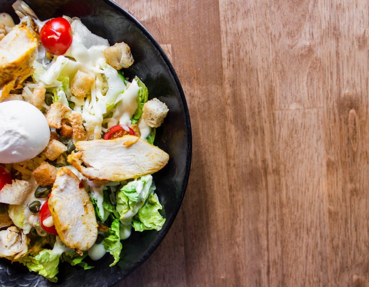 caesar salad as mediterranean food