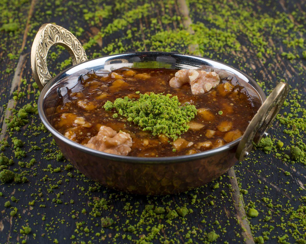 lentil stew as mediterranean food