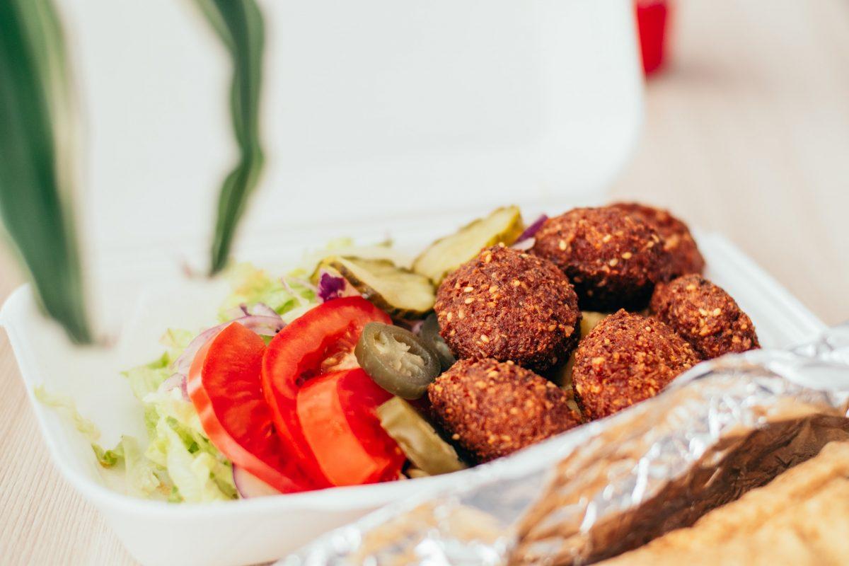 Falafel as mediterranean food