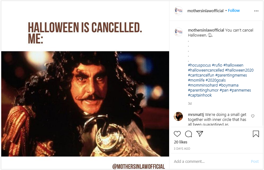 Halloween is not cancelled!