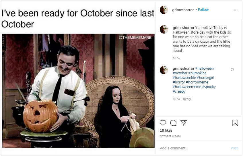 Everyday is Halloween if you're an Addams
