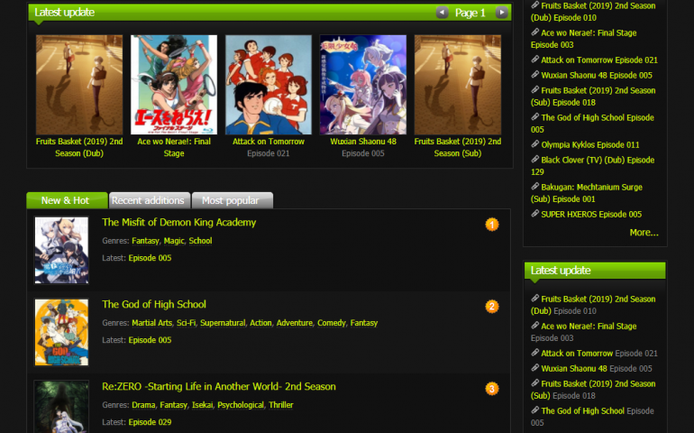 KissAnime is Closed