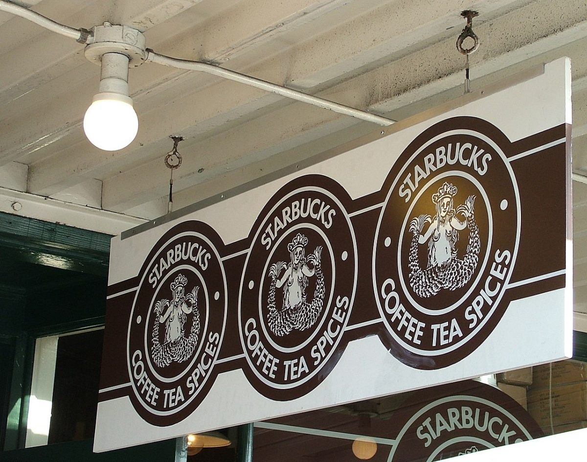 Original Starbucks Logo