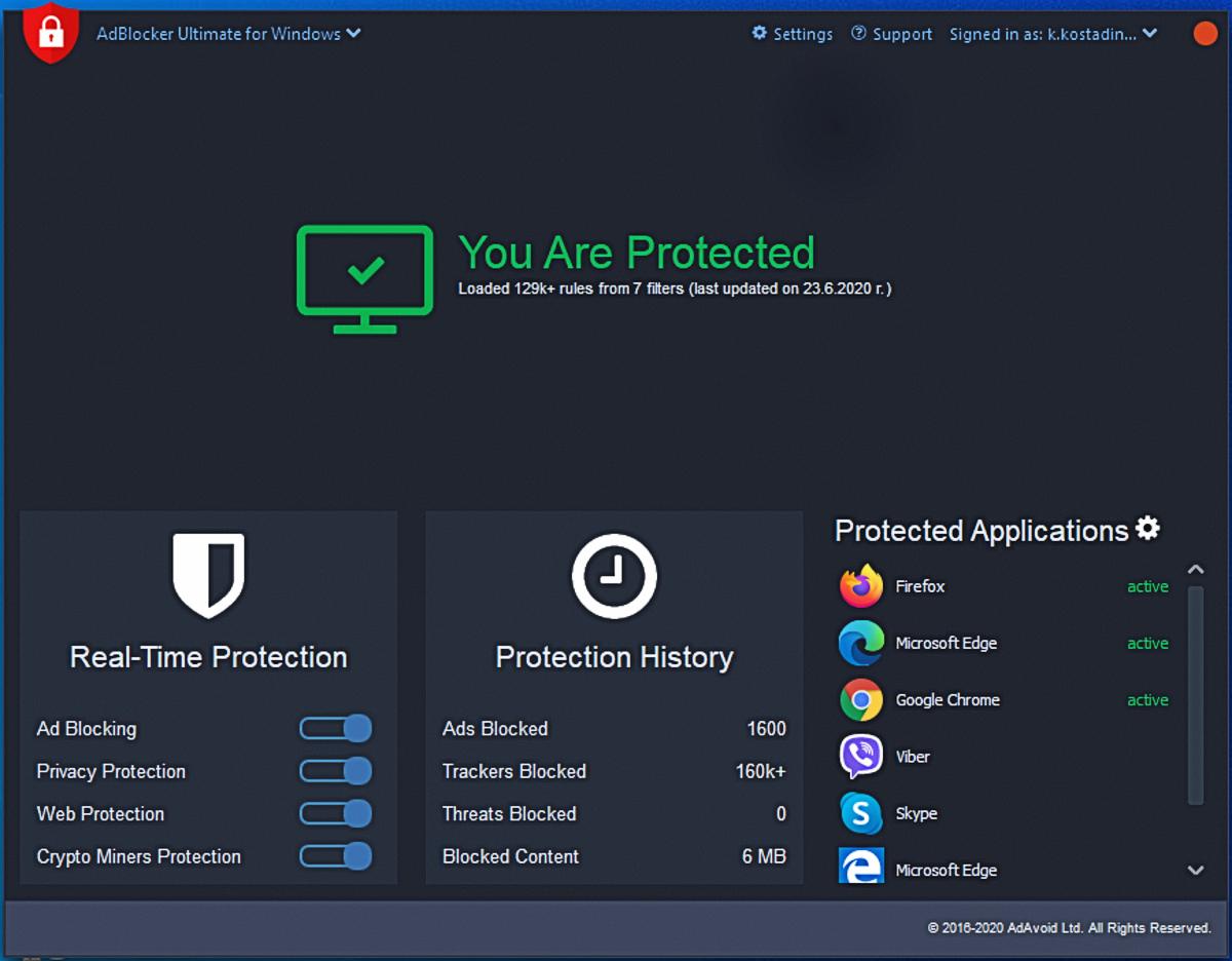 AdBlocker Ultimate ad blocker for Windows