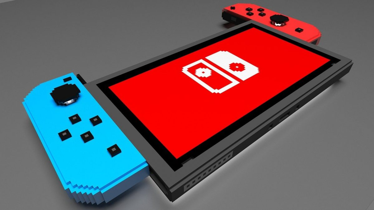 Nintendo Switch Gamer Console