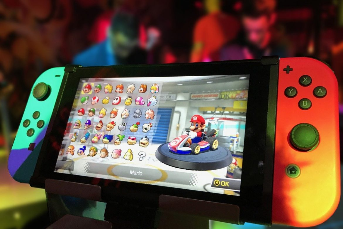 Mario Kart on Nintendo Switch