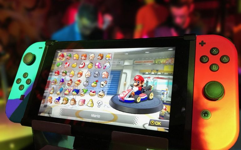 Mario Kart on Nintendo Switch