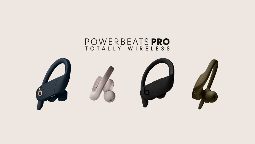 Powerbeats pro best wireless earbuds for hitting the gym