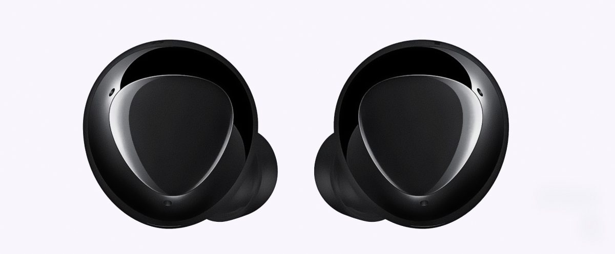 Samsung Galaxy Buds+ wireless earbuds with long lasting battery life
