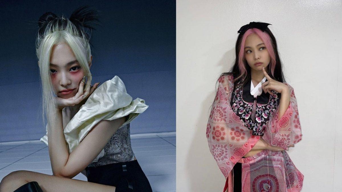 Split Dye Egirl Hairstyle