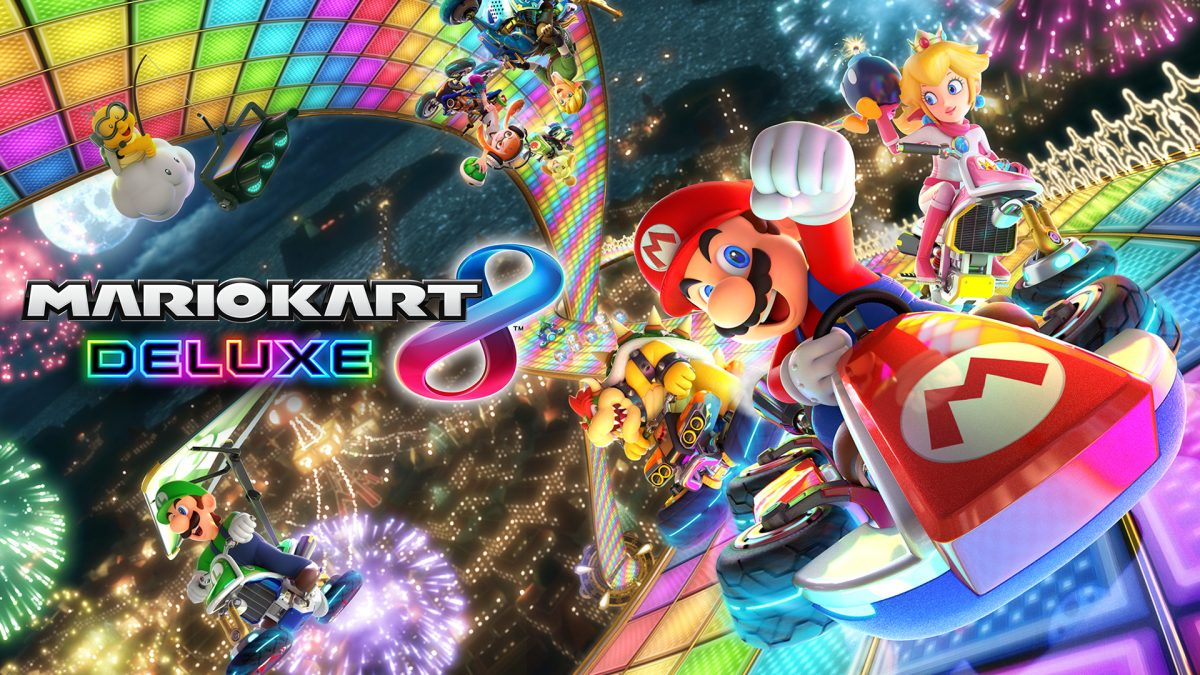 Mario Kart 8 Deluxe best selling game on Switch