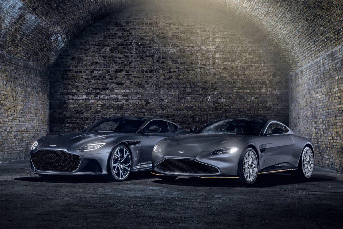 Aston Marrtin Special Edition Bond Cars
