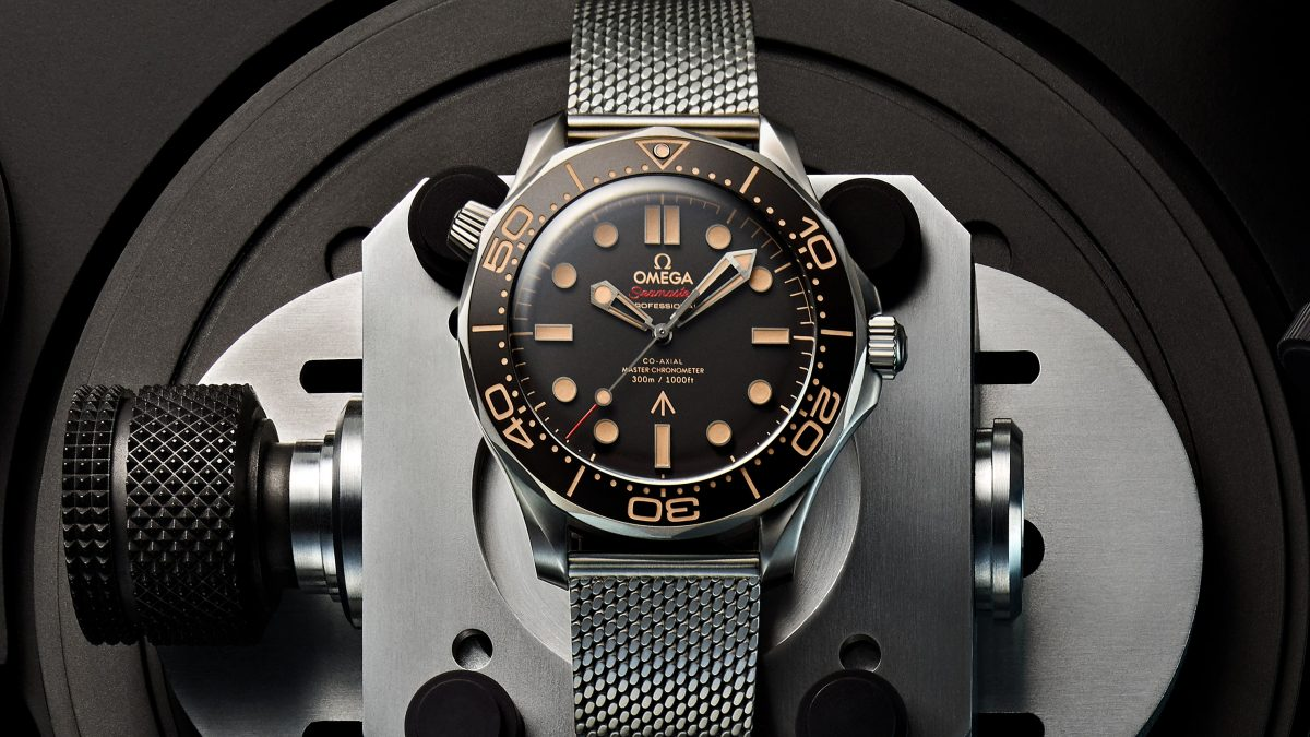 New James Bond Omega Watch