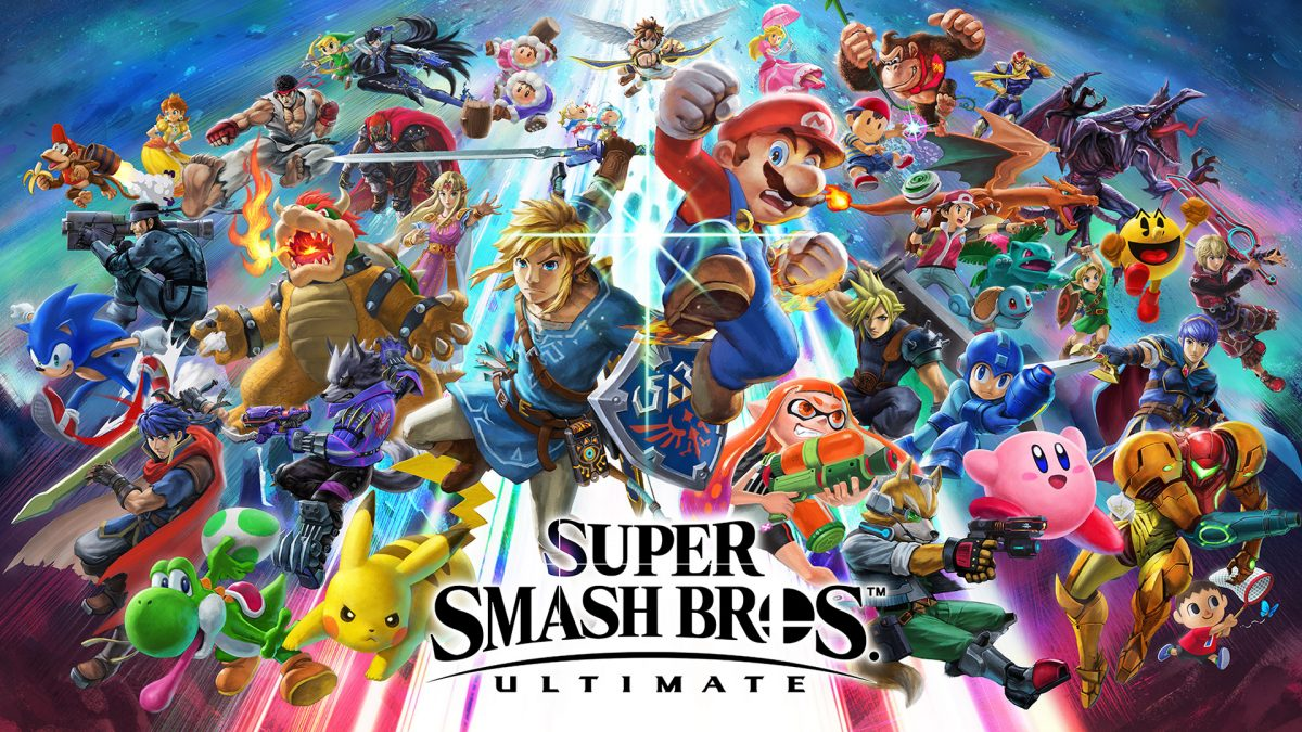 Super Smash Bros best selling game on Switch