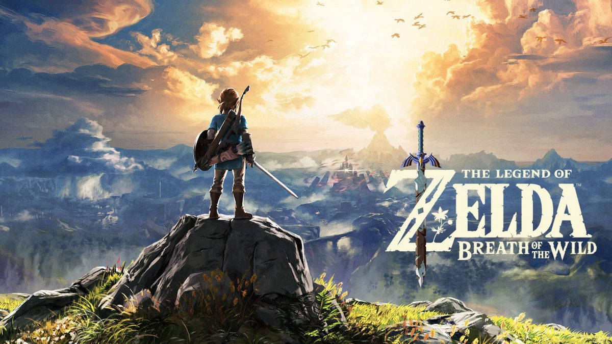 Zelda: Breath of the Wild best selling game on Switch