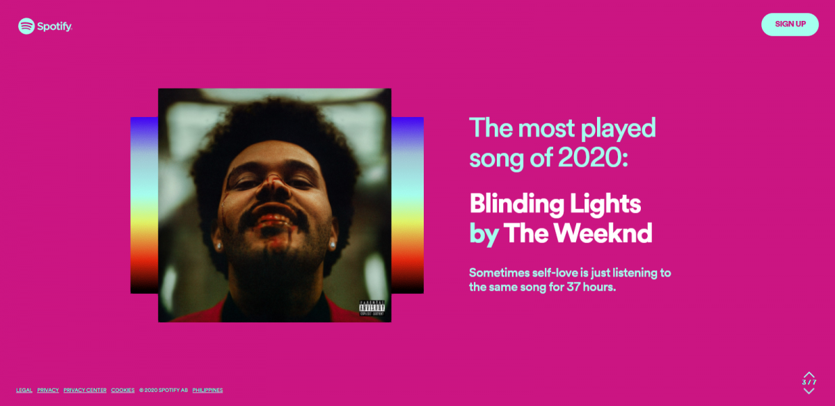 spotify wrapped top song