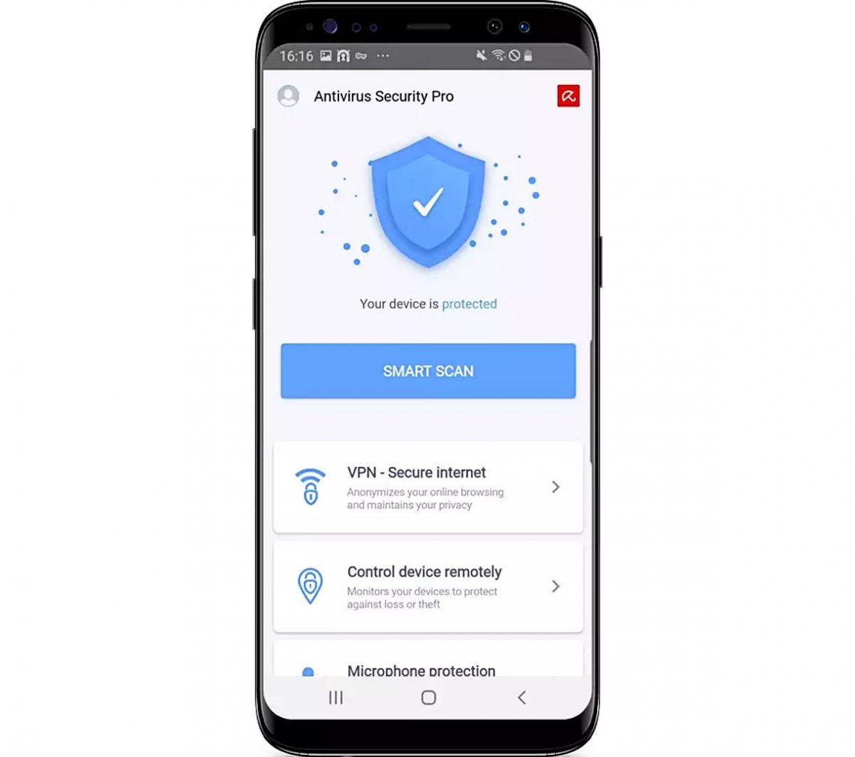 Avira free antivirus for Android devices