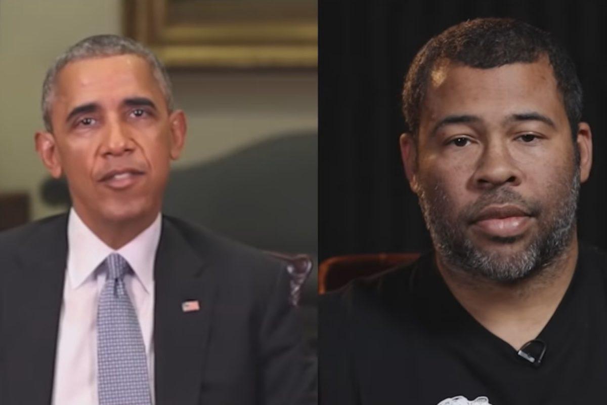 Barack Obama deepfake video created by Jordan Peele.