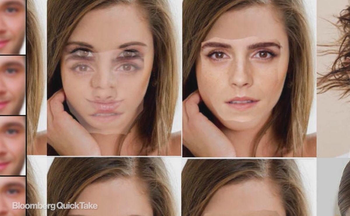The process of deepaking the image of Emma Watson