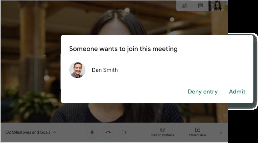 Google Meet as an alternative app