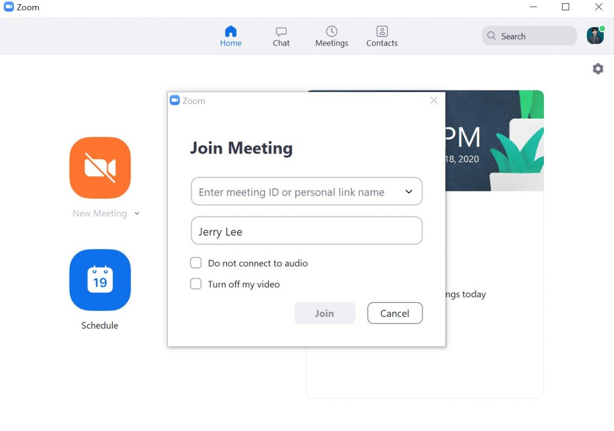 How to join a Zoom meeting via meeting ID