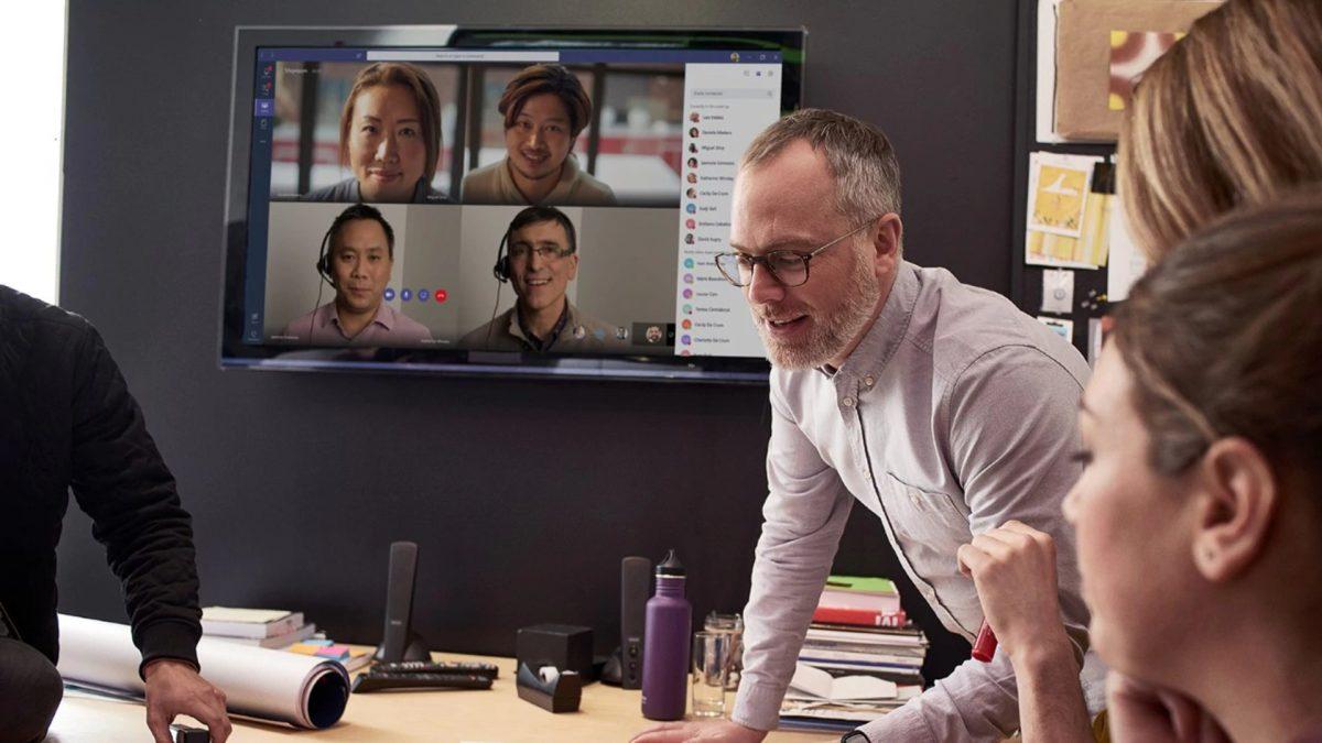 Microsoft Teams video conference app