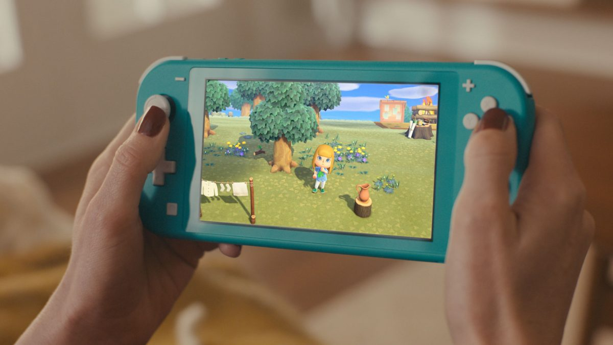 The Nintendo Switch Lite as one of the best Christmas gift ideas for kids