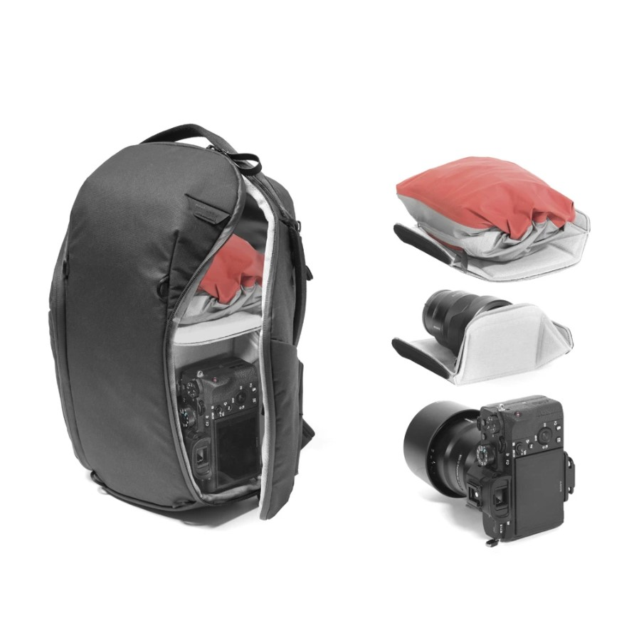 The Everyday Backpack Zip for those who travel with their gadgets