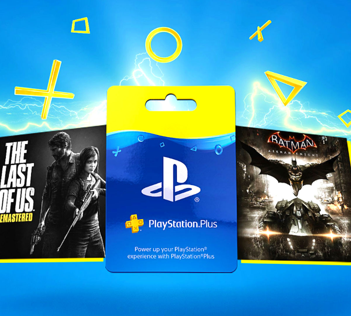 PlayStation Plus membership cards make for great Christmas gift ideas for gamers.