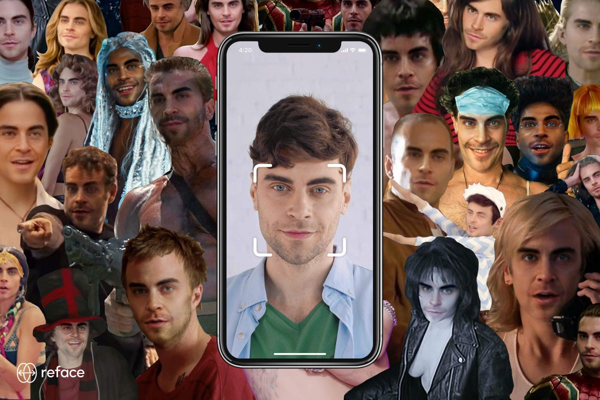 How to make deepfakes using a mobile application.