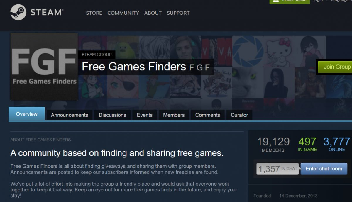 Steam forums for finding free Steam games