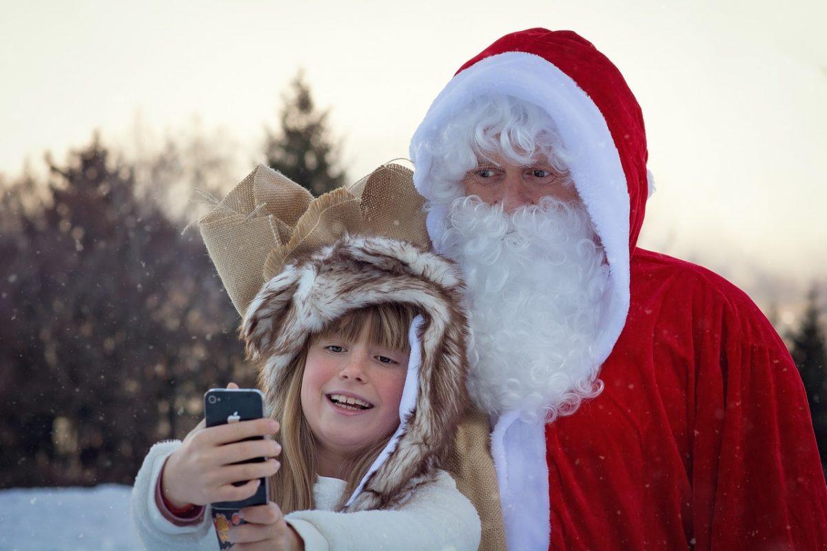Modern Day Santa Claus, christmas trivia