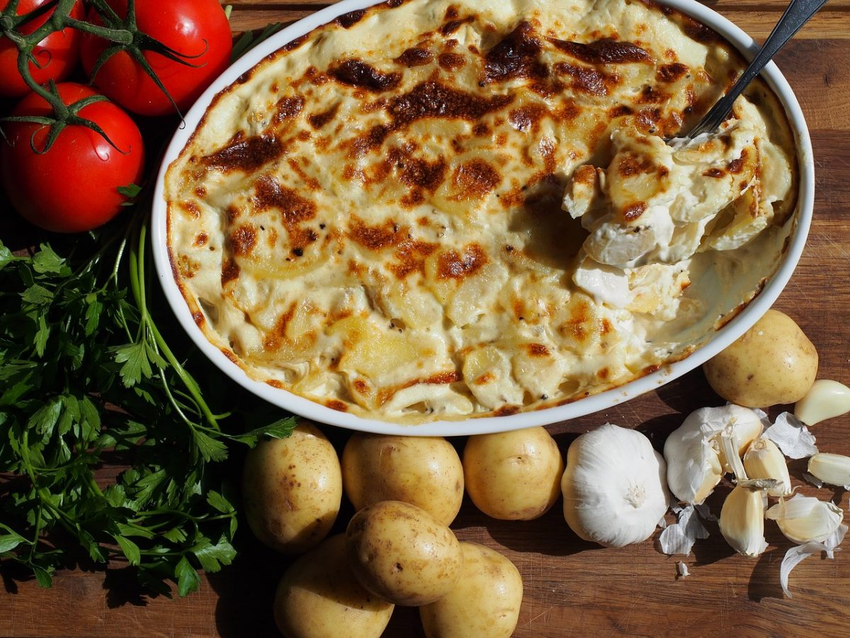 Swedish Potato Gratin