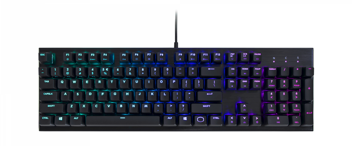 Cooler Master's budget friendly mechanical keyboard.