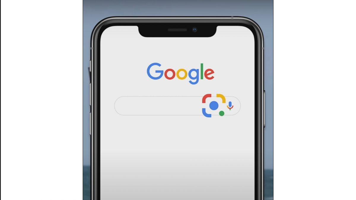 Google Lens for iOS devices.